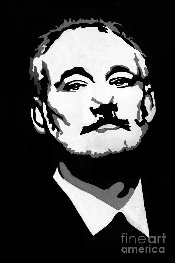 Bill Murray Painting - BFM by Laura Charlesworth