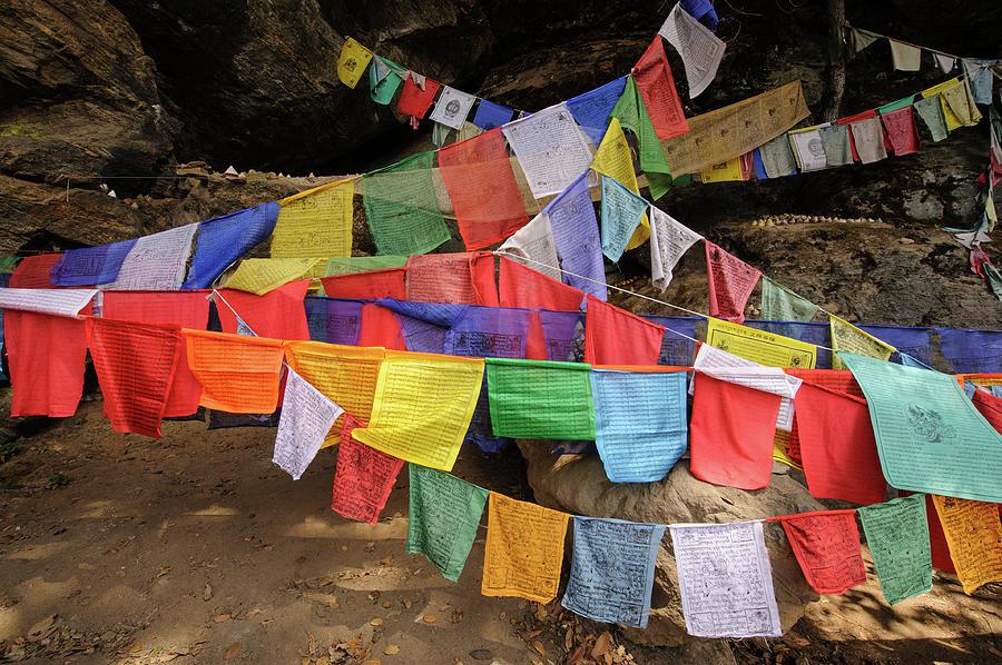 Bhutanese Prayer Flags Photograph by Marketa Ebert
