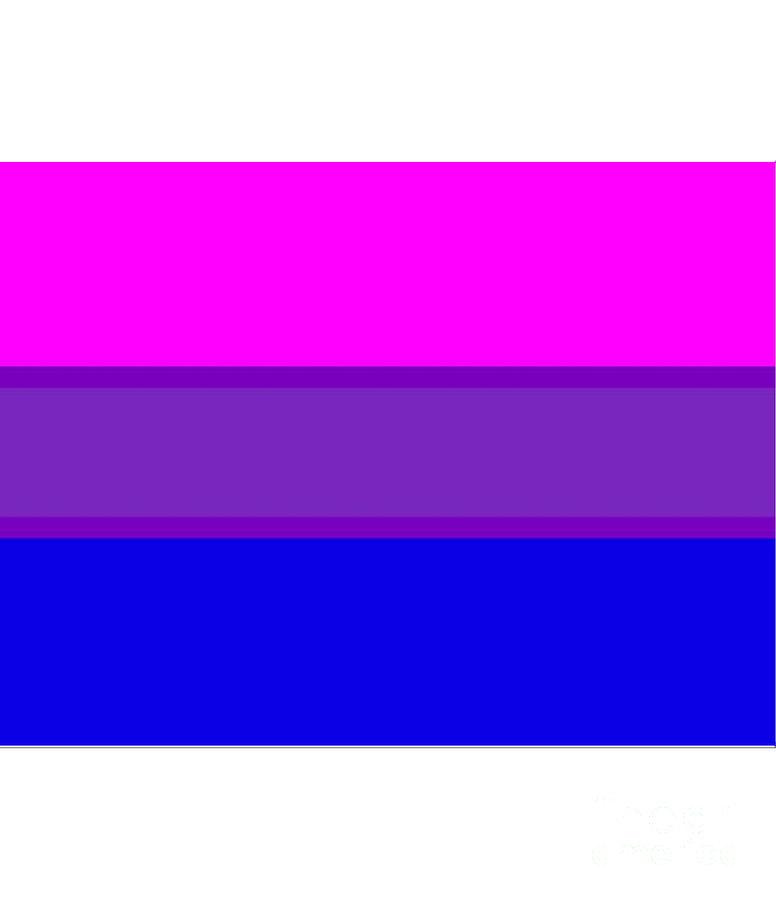 Bi Pride Digital Art - Bi-pride Flag by Frederick Holiday