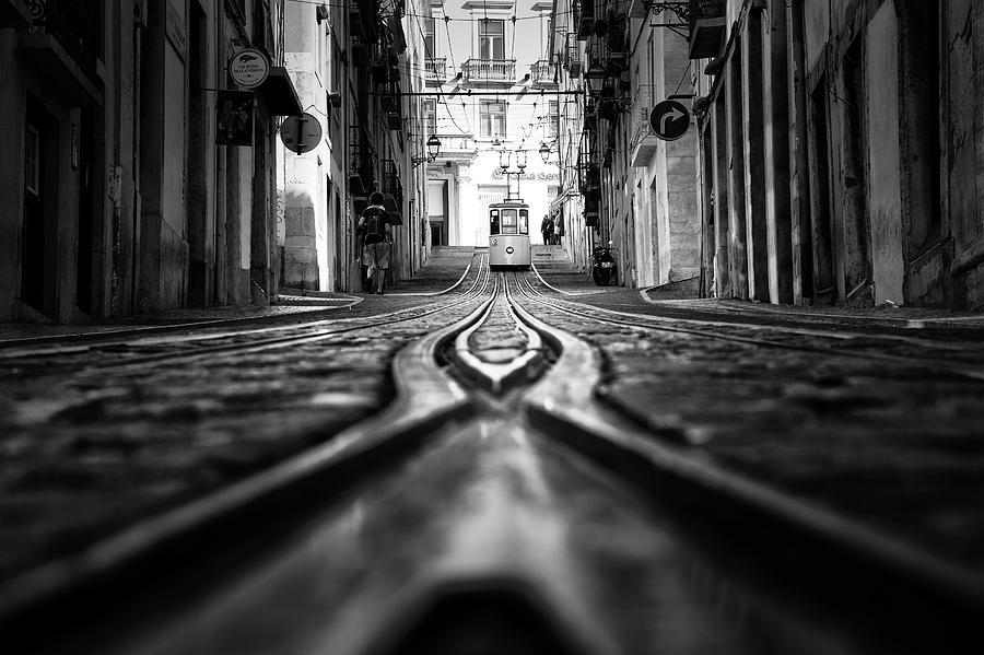 Tram Photograph - Bica by Alex Eugenio