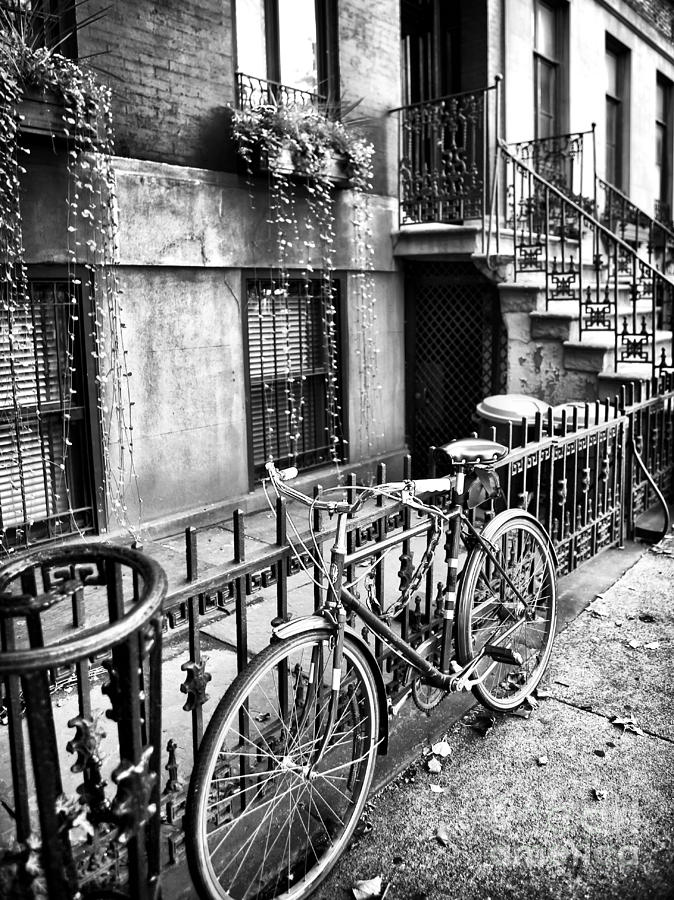 Bike Photograph - Bicycle In The Village by John Rizzuto