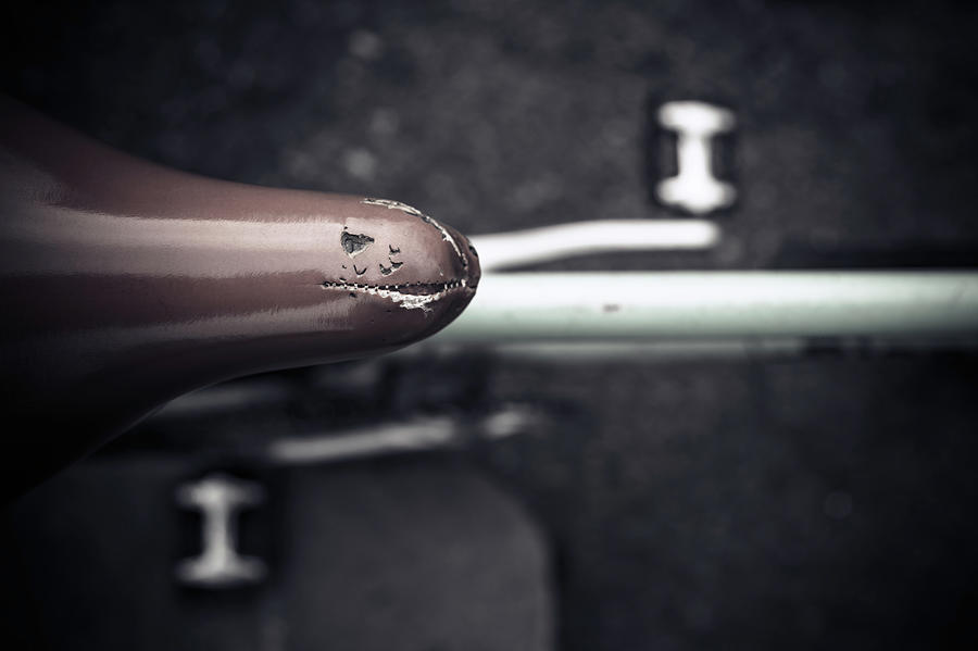 Bicycle Seat From Above Photograph by Paolomartinezphotography