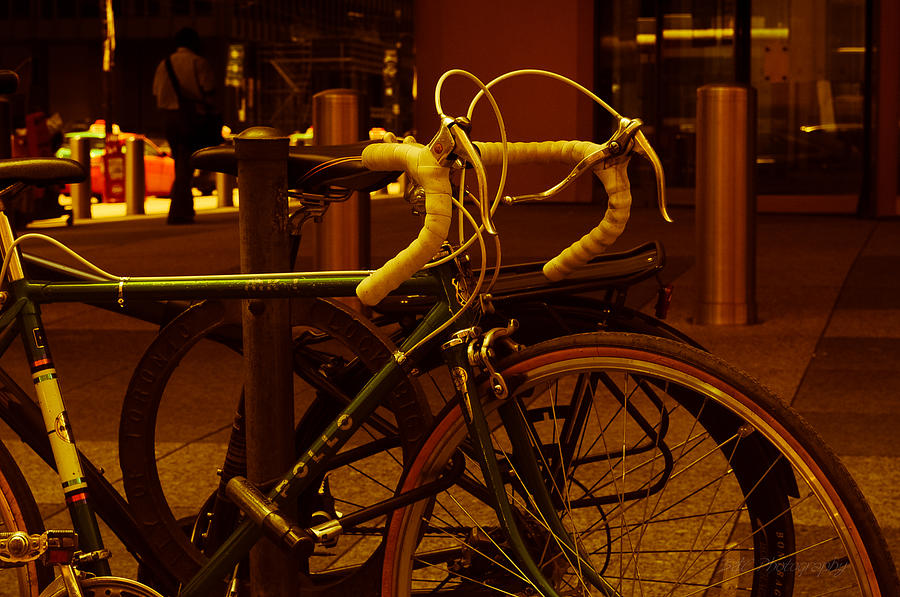 Bicycle Photograph - Bicyclette by BandC  Photography