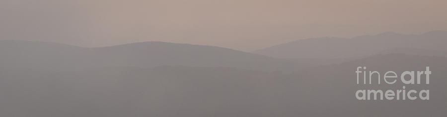 Hazy Photograph - Bieszczady by Agata Wisniowska