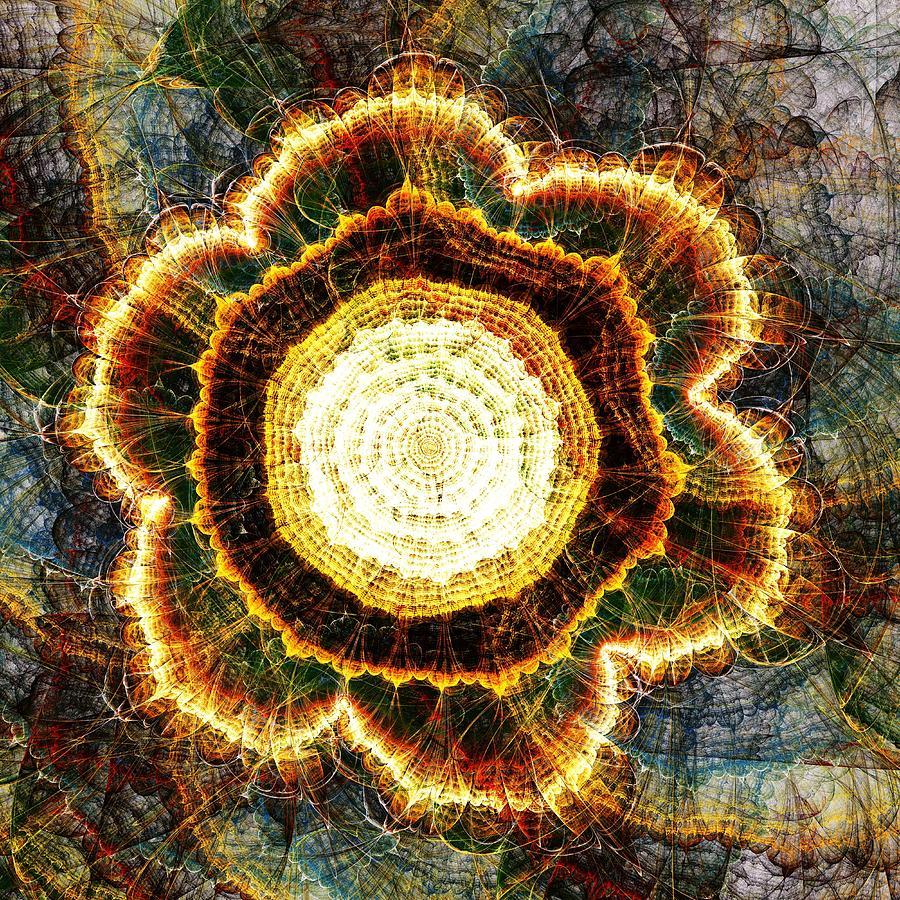 Big Bang Digital Art by Anastasiya Malakhova