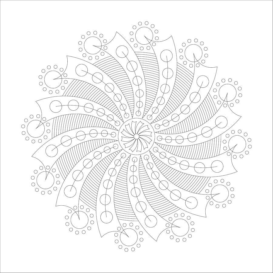 Relief Digital Art - Big Bang by DB Artist