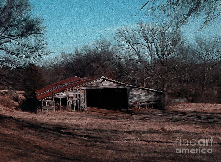 Barn Photograph - Big Barn Theory by R McLellan