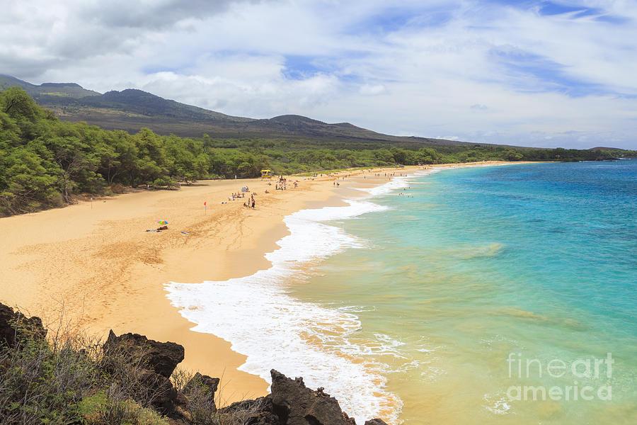 Big Beach south Maui Hawaii by Ken Brown