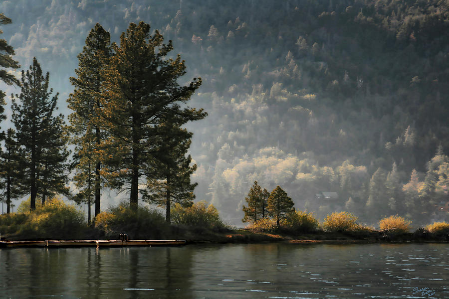 Big Bear Lake Scenic by Sharon Beth