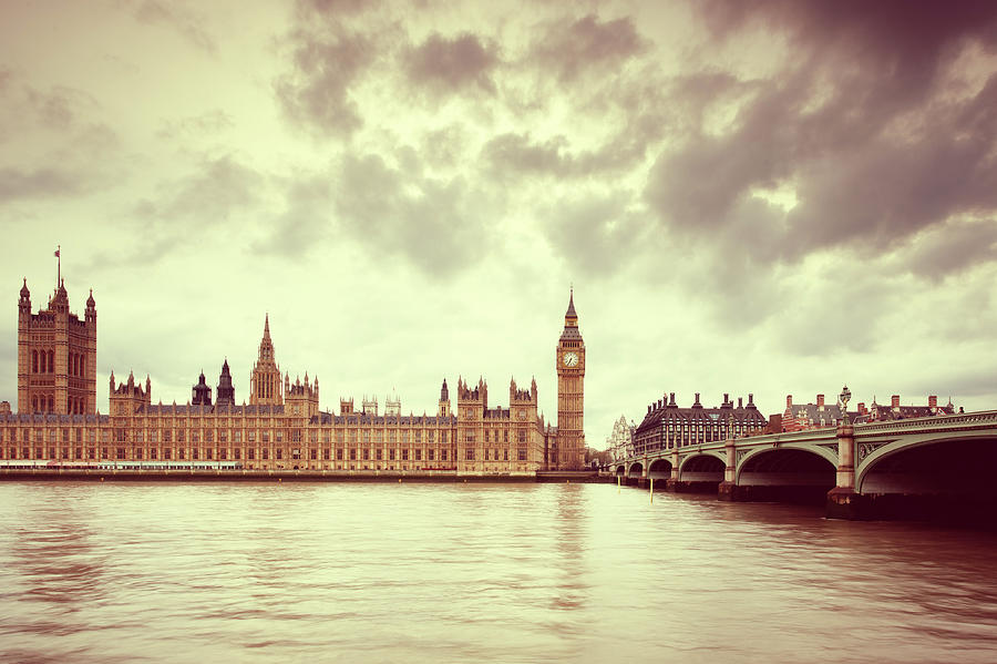 Big Ben & Parliament In London Photograph by Mammuth