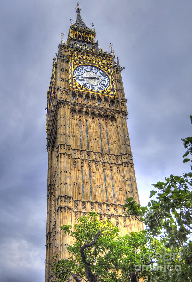 Big Ben Photograph - Big Ben - Elizabeth Tower by Skye Ryan-Evans