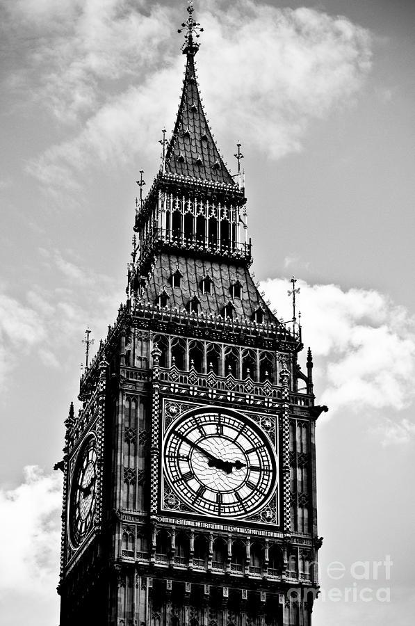 Big Ben Photograph - Big Ben by Lana Enderle
