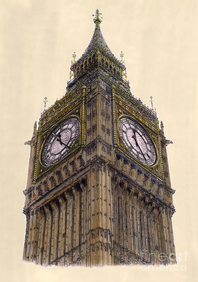 big ben doodle - photo #14