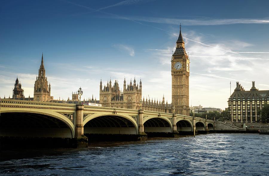 Big Ben, London Photograph by Tangman Photography