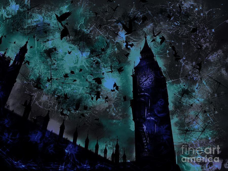 Big Ben Digital Art - Big Ben by Marina McLain