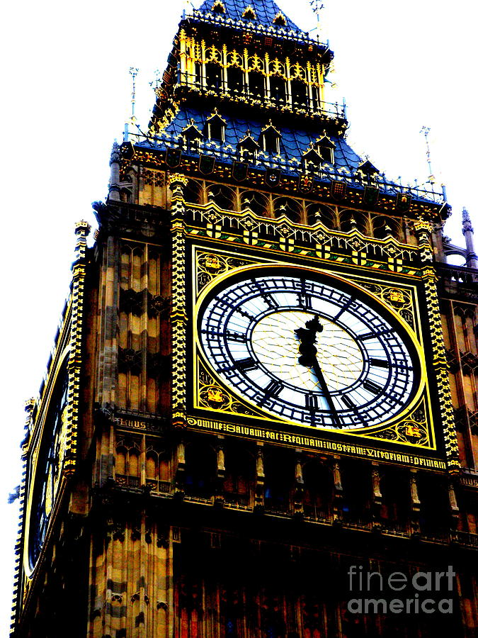 Big Ben Photograph - Big Ben by Sophia Elisseeva