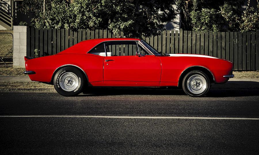 Chevy Camaro Photograph - Big Block Camaro by motography aka Phil Clark