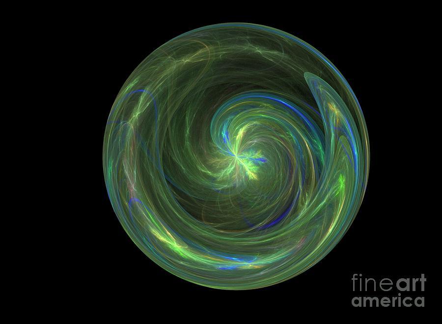 Earth Digital Art - Big Blue Marble by Terry Weaver