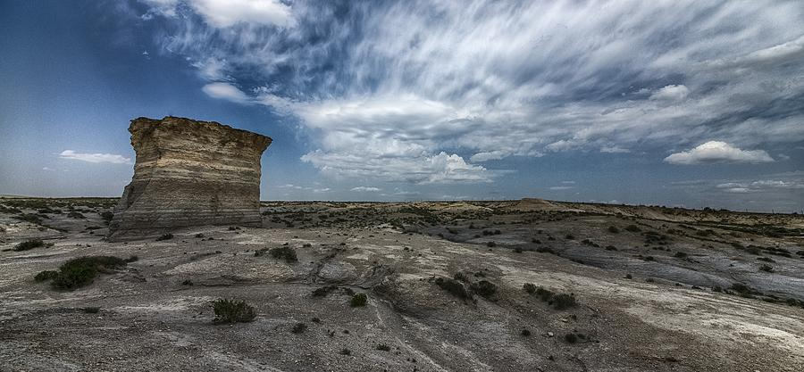 Clouds Photograph - Big Blue Sky by Garett Gabriel