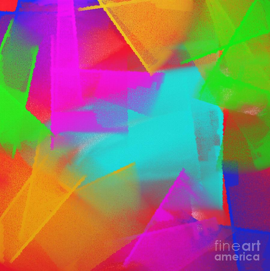 Color art digital - S Digital Art Big Bold Colors 1 By Andee Design