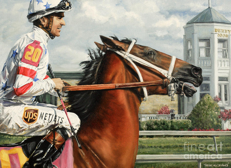 Big Brown Painting - Big Brown At Churchill by Thomas Allen Pauly