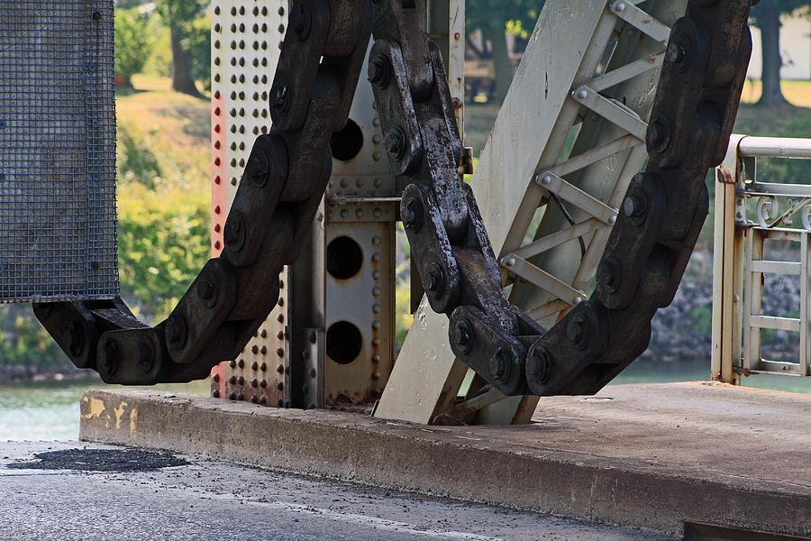Chain Photograph - Big Chain by Cyryn Fyrcyd