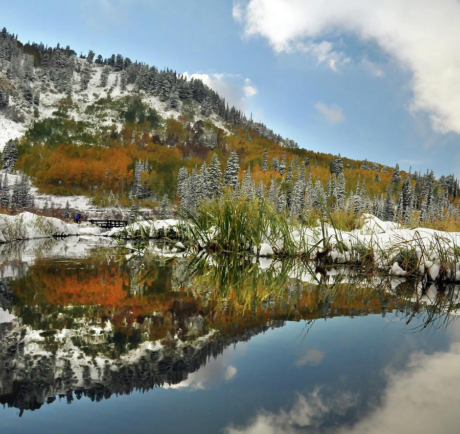 Big Cottonwood Canyon Silver Lake Photograph by Utah-based Photographer Ryan Houston