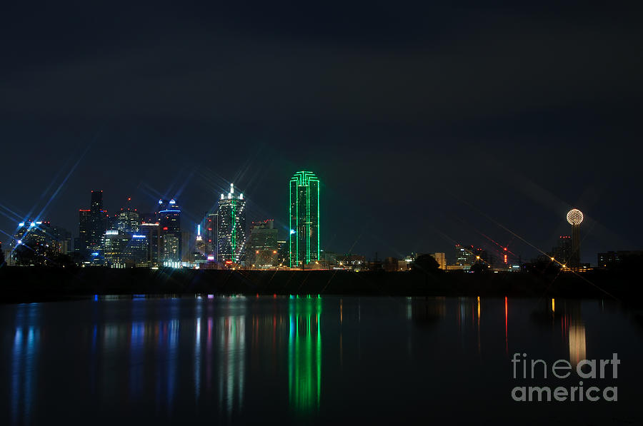 Buildings Photograph - Big D by Charles Dobbs