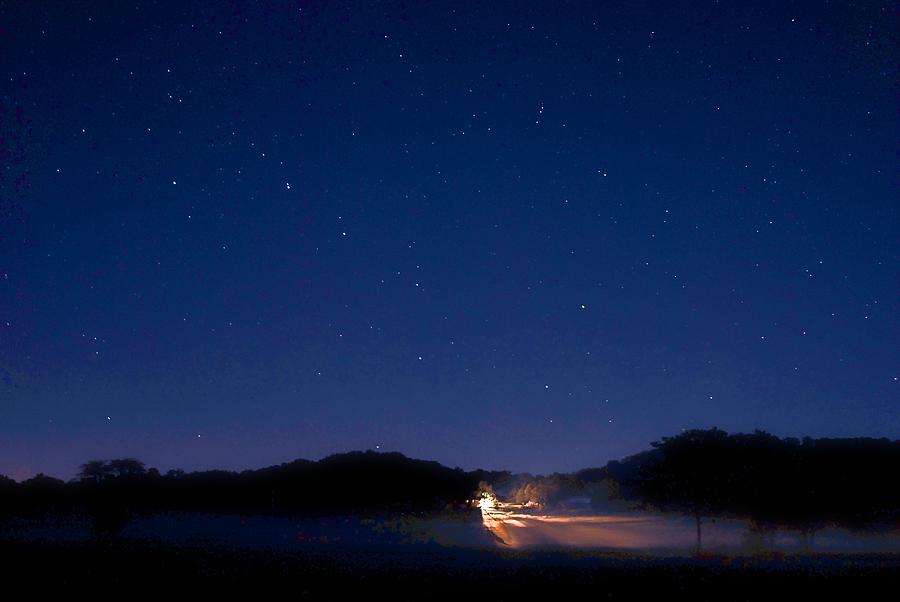 Big Dipper Photograph - Big Dipper In The Valley by Larry Bodinson