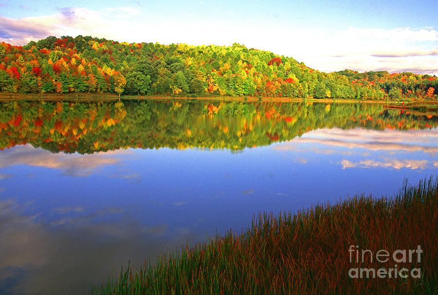 Cowen Photograph - Big Ditch Lake West Virginia by Thomas R Fletcher