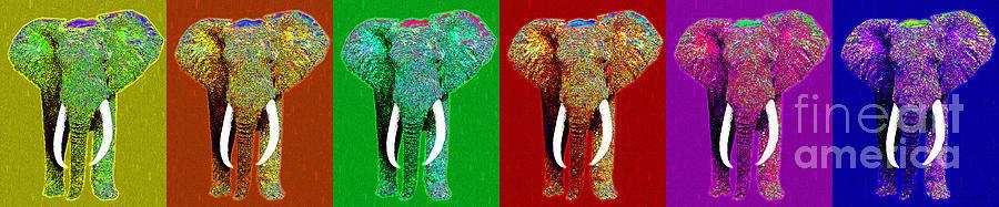 Elephant Photograph - Big Elephant Six 20130201 by Wingsdomain Art and Photography