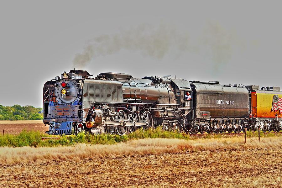 Train Photograph - Big Iron Horses by Jason Drake