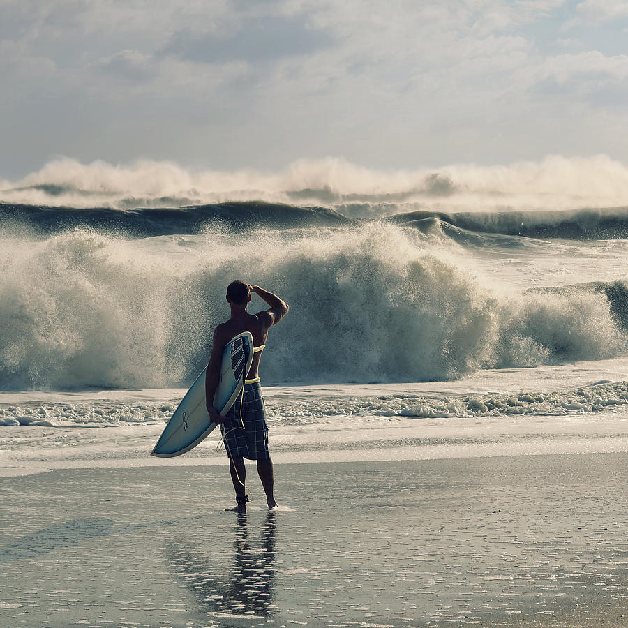 Surfer Photograph - Big Kahuna by Laura Fasulo
