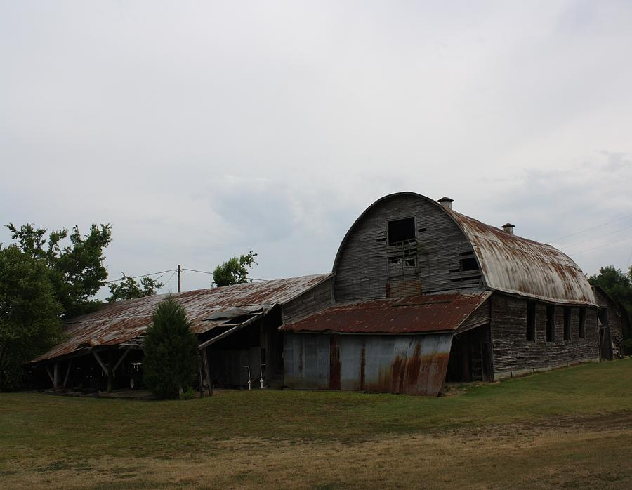 Big Old Barn Photograph by Terry Scrivner