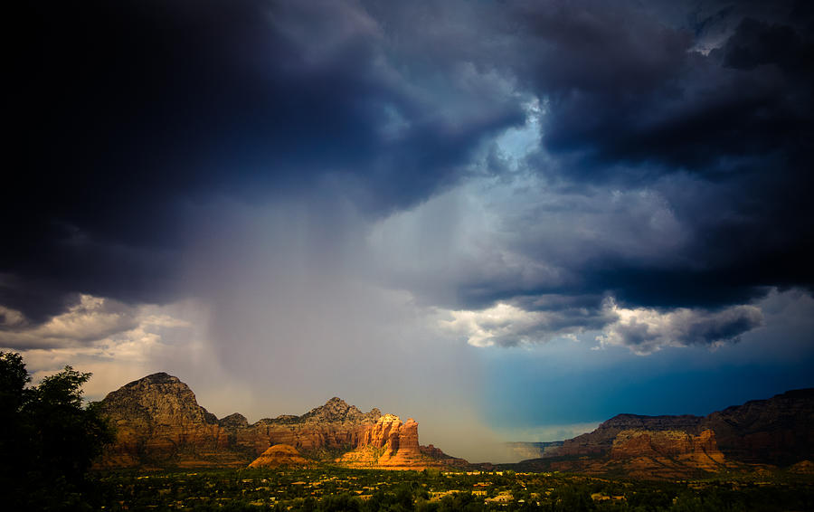 Sedona Photograph - Big River by Roger Chenery