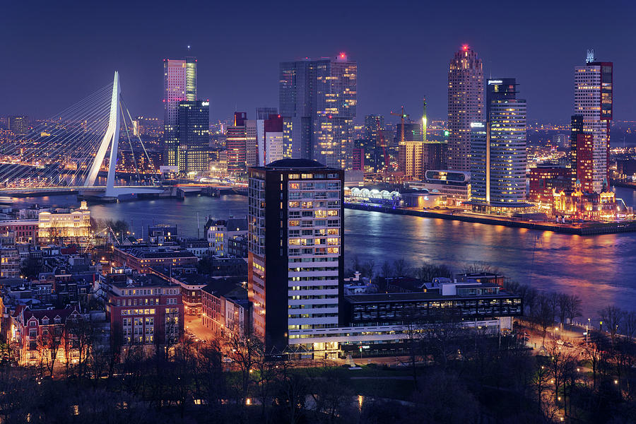 Netherlands Photograph - Big Rotterdam 2 by Juan Pablo De