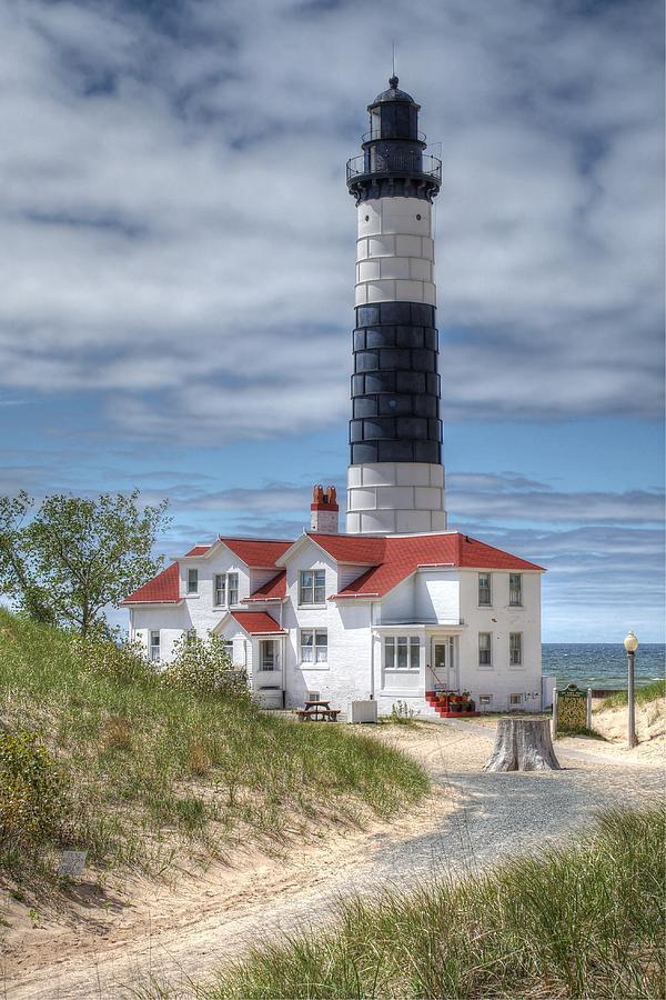 Lighthouse Photograph - Big Sable Point Lighthouse by Bruce Wilbur