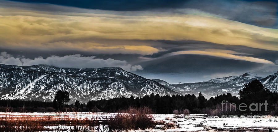 Big Sky Photograph - Big Sky by Mitch Shindelbower