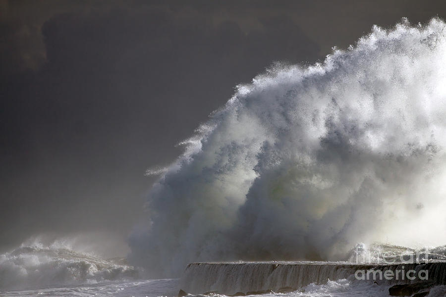 Big Photograph - Big Storm Wave by Boon Mee
