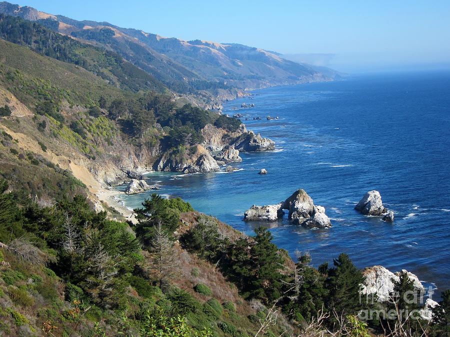 Big Sur Photograph - Big Sur Coast Ca by Debra Thompson
