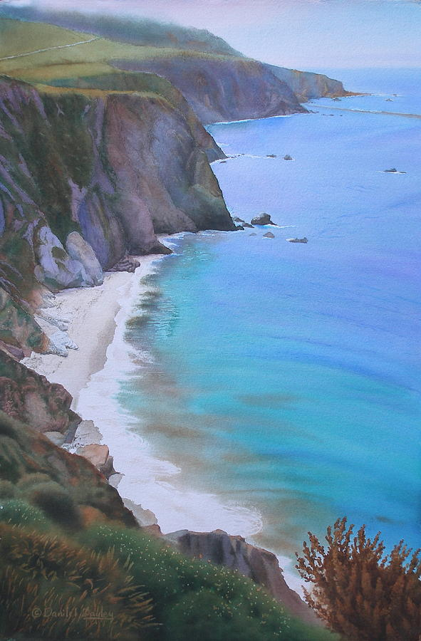 Big Sur Coast by Daniel Dayley