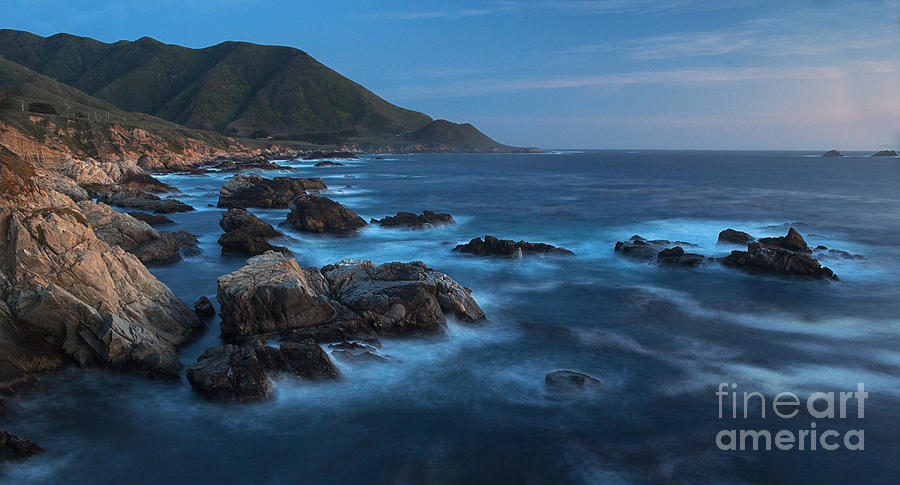 California Photograph - Big Sur Coastline by Mike Reid