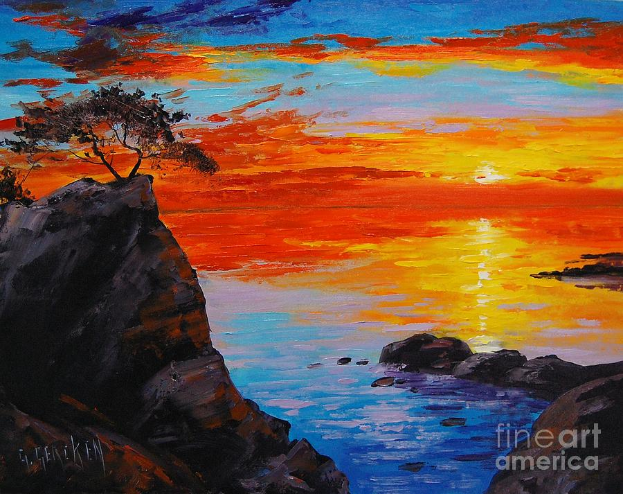 Fisher Oil Painting