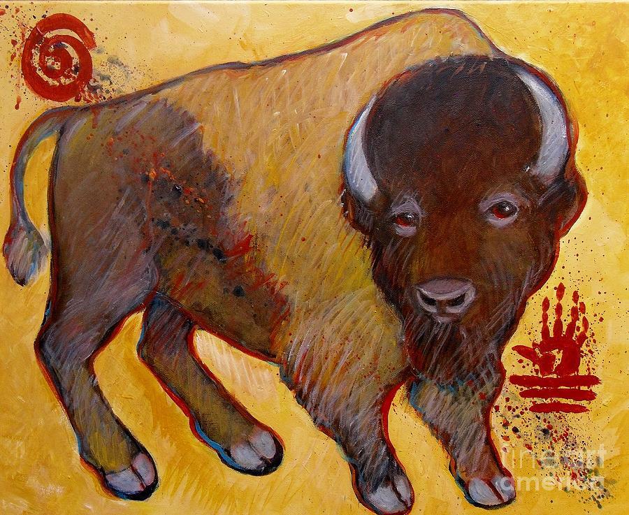 Big Tatanka Buffalo Painting