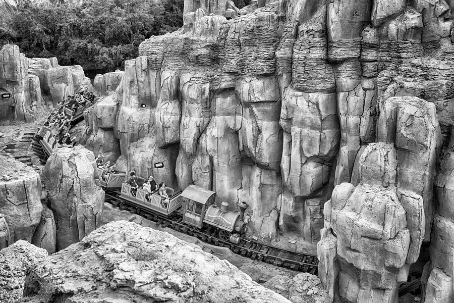 Nature Photograph - Big Thunder Mountain Railroad by Howard Salmon