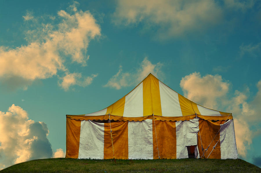 Whimsy Photograph - Big Top by Laura Fasulo