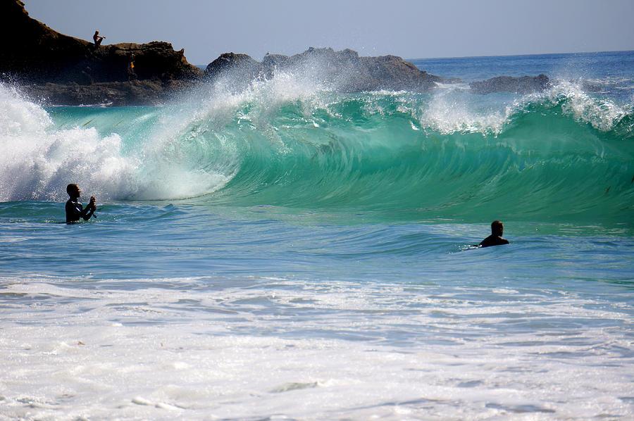 Big Waves At Laguna Beach Photograph By Deon Mitton