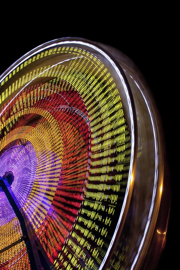 Fair Photograph - Big Wheel by Caitlyn  Grasso