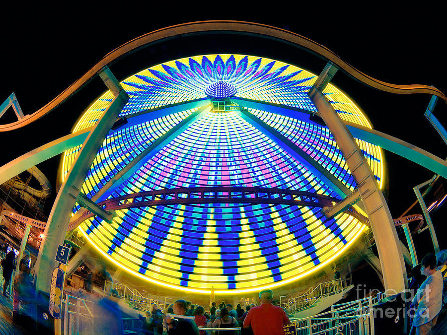 Big Wheel Photograph - Big Wheel Keep On Turning by Mark Miller