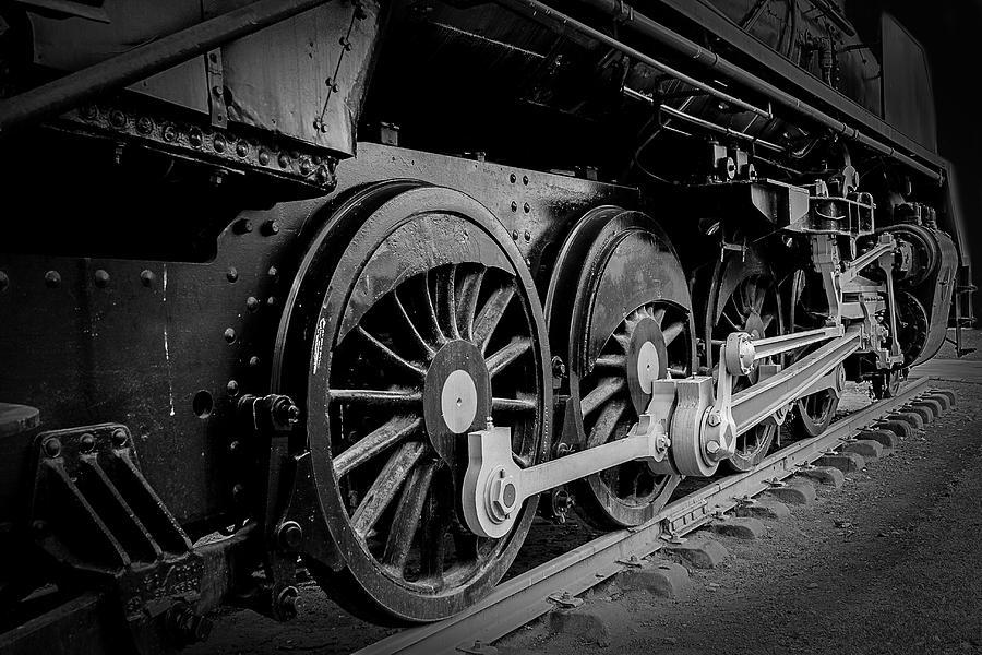 Big Photograph - Big Wheels by Herbert Seiffert